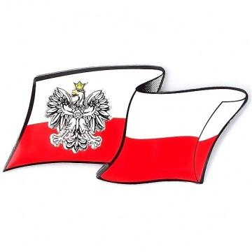EMBLEMAT PRZYKLEJANY - FLAGA POLSKI